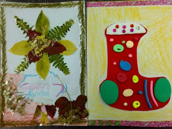 """""""花和树叶都成标本了.""""不少孩子惊奇地赞叹道."""
