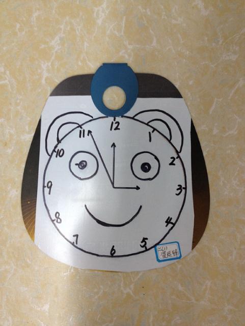 黄冈小学数学月活动(二):举行二年级钟面设计手工制作比赛图片
